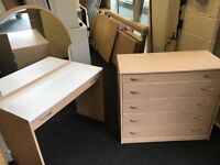 Alstons dressing table and chest (FREE DELIVERY)