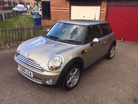 Mini One 1.6 VERY LOW MILES 2010 Plate