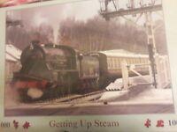 1000 piece steam train jigsaw