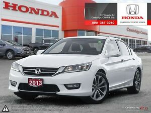 2013 Honda Accord Sport REAR VIEW CAMERA WITH GUIDELINES | BL...