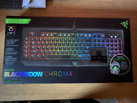 Razer BlackWidow chroma - Razer Abyssus - SteelSeries Matt