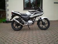 honda cbf 125 2010 12 months mot p/x possible