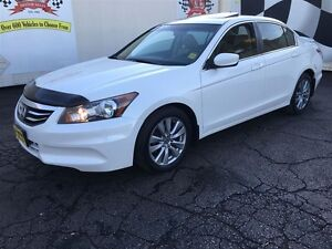 2012 Honda Accord Sedan EX-L, Automatic, Leather, Sunroof, Heate