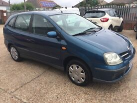 Nissan Almera Tino S 5 door. Cheap car.
