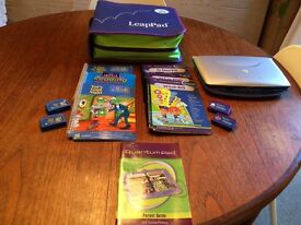 Leap Pad Learning System inc Quantum Pad (by Leap Frog)