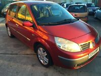 Renault Scenic dynamique dci, red,manual, 12 MONTHS MOT £899