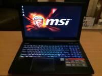 MSI GE62VR 6RF Gaming laptop