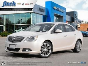 2015 Buick Verano Leather LEATHER|NAV|SUNROOF|BOSE AUDIO|REAR...