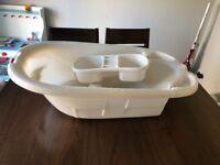Mamas and papas Bambino two stage bath + wash bowl