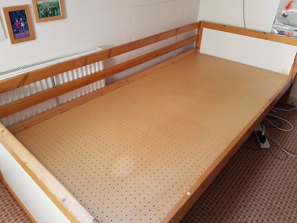 single bed with side rails