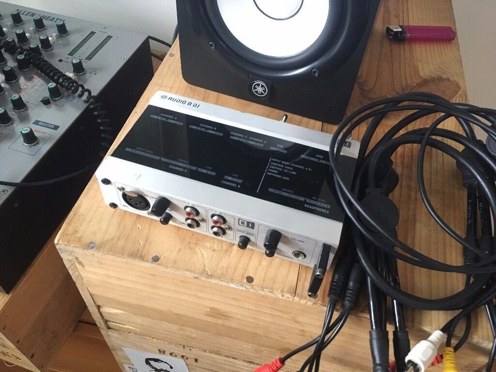 ni native instruments traktor audio 8 dj soundcard 2 4 6 10 not focusrite or roland in canada. Black Bedroom Furniture Sets. Home Design Ideas