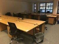 Office furniture clearance with desks chairs and more