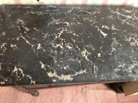 Marble top Wash table