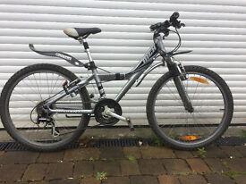 "Kids Mountain Bike - Giant MTX 225, 24"" Wheels, Aluminium Frame, Suspension Forks & Seat Pin"