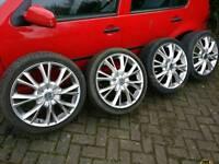 18 Inch Alloy wheels (Wolfrace)