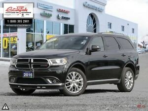 2016 Dodge Durango Limited AWD | BLUETOOTH | ACCIDENT FREE