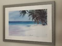 2 x print framed pictures