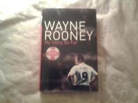 "Hardback Book, WAYNE ROONEY "" MY STORY SO FAR""."