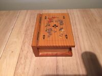 Charming little French card box
