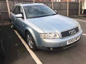 AUDI A4 AVANT, 1.9 TDI LOADS OF HISTORY
