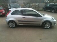 07 PLATE FORD FIESTA 1.6 ZETEC-S 3DR 41000MILES £3600