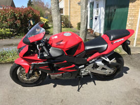 Low mileage 2003 Honda CBR900RR Fireblade, one owner from new, immaculate condition