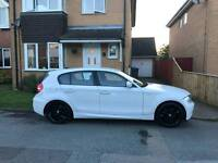 Bmw 118i (2ltr) imaculate condition fsh petrol white 45k miles 5 door