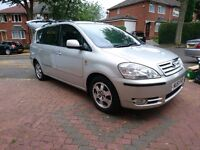 Silver Toyota Avensis Verso 2.0 D-4D GLS 5dr 7 Seater