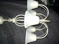 chrome light fitting