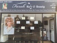 FREE Table for a Nail Technician in a Lady Hair & Beauty Salon in Pinner high street.