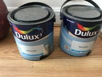 Dulux paint Matt mineral mist 2X2.5l unused