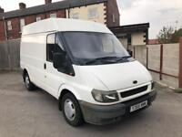 2001 FORD TRANSIT 2.0 TD T280 SWB SEMI HI ROOF WHITE MOT'D GREAT WORKHORSE READY TO GO