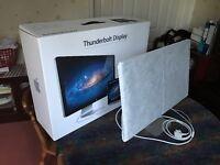 "Apple 27"" Thunderbolt Display - Used As New In Original Packaging"