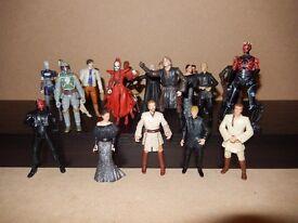 Star Wars Figures bundle - Joblot of 17 figures