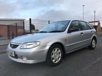 52/2003 MAZDA 323F GXI 1.6 PETROL GOOD CONDITION VERY GOOD RUNNER 12 MONTHS MOT BARGAIN!!