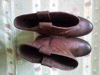 Herman Survivor Steel Toe Cap Genuine Leather Work Boots Size 11