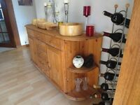 Solid Wood sideboard - very good conditon