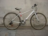 Womens Hybrid/ Commuter Bike by Pendleton, White, Small, Good Condition, JUST SERVICED/ CHEAP PRICE!
