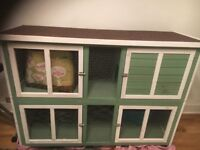 Free Rabbit hutch - brand new from Pets at Home with other products