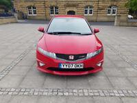 honda civic type r fn2 2007 6 speed gear box 200 bhp red 69k low mileage