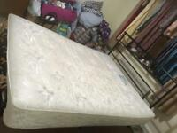 Argos double bed cot with mattress