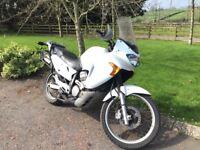 2004 honda 650 transalp motorcycle