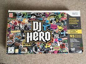 Wii DJ hero turntable