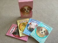 Holly Webb Magic Molly Book Box Set Shy Piglet Good Luck Duck Witch Kitten puppy