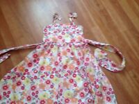 Bundle of girls' summer dresses - mixed ages (18 mths, 3-4 yrs, 5 yrs , 6-7 yrs) - 9 photos