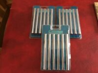 3 packs x 6 Chrome Finish T Bar Handles, 96mm NEW