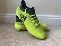 Football Boots- Adidas X 17.1 SG Size 7