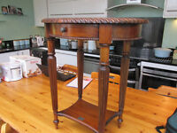 ANCIENT MARINER 19th C Style Two Tier Occasional Table