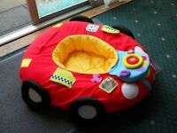 Baby sit up ring car, all working and clean