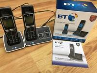 BT digital cordless phone with answering machine BT6500